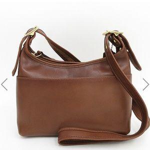 COACH (coach) old leather shoulder bag 9136
